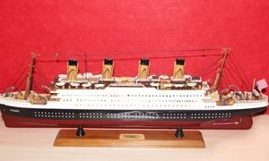 泰坦尼克号豪华邮轮模型