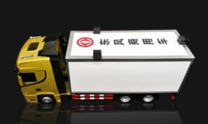 集装箱 货柜车模型送礼有面