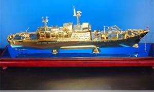 纯铜崇明岛号远洋打捞救生船