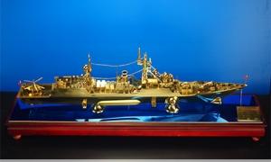 纯铜广州号驱逐舰  052B型...