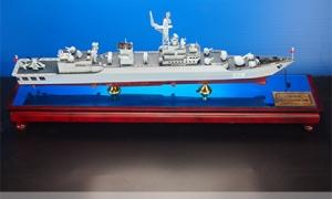 3d打印军舰模型——绵阳号护卫...