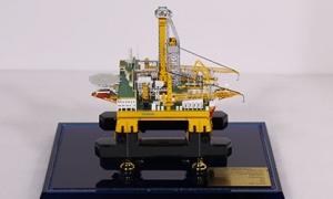 工业模型 钻井平台模型 高级仿...