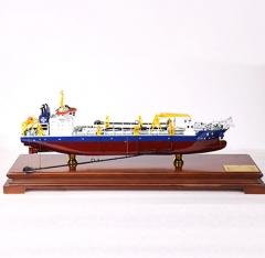 船舶海工模型|3D打印挖泥船模型