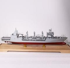 船舶模型|3D打印远洋补给舰模型纪念礼品
