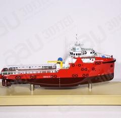 3D打印船舶模型|PSV拖船模型