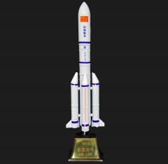 长征五号运载火箭模型