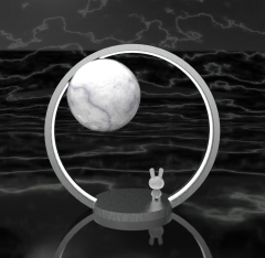 """""""兔好月圆""""小夜灯"""