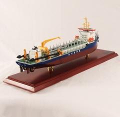 沧航浚船模