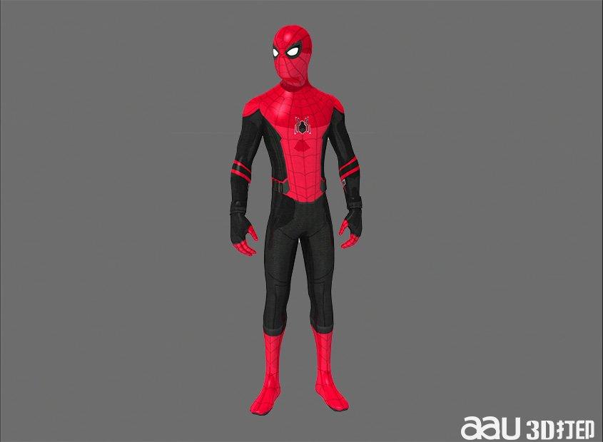 漫威蜘蛛侠-3d模型