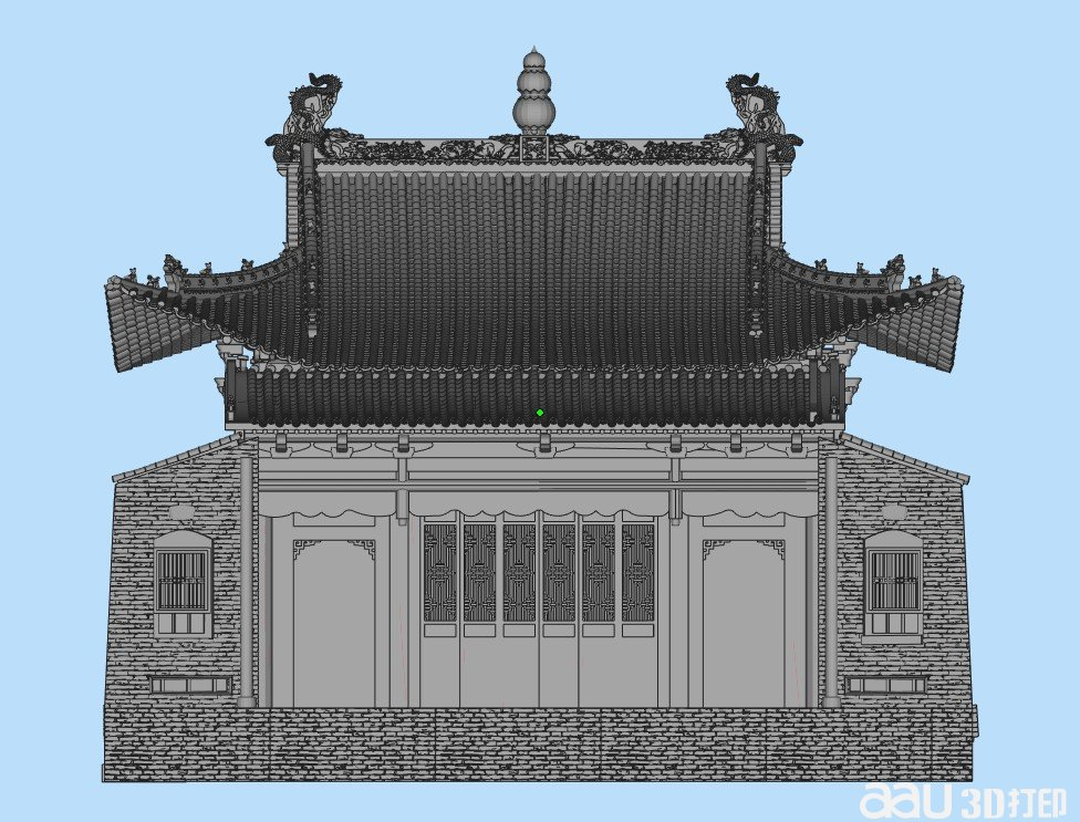 戏台-3d模型