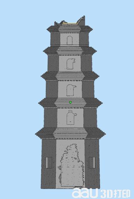 普云院塔-3d模型