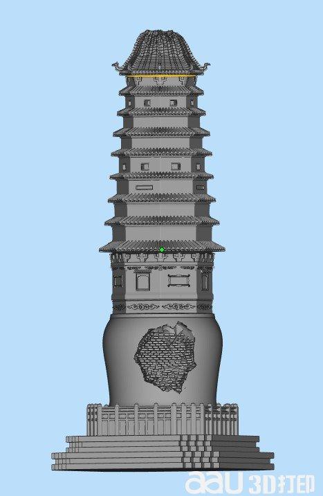 3D舍利塔(�u��